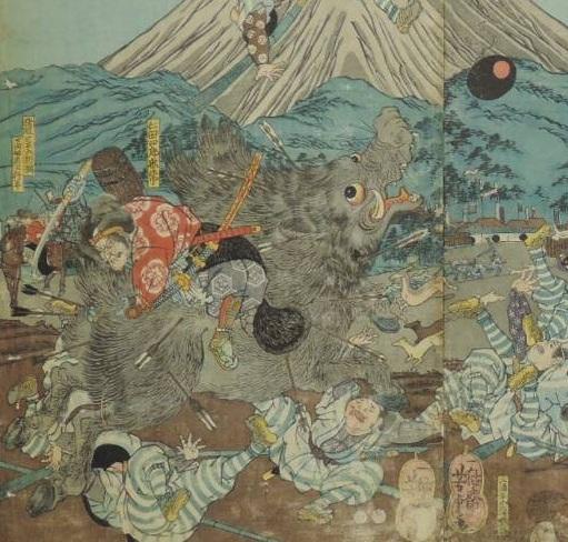 富士の巻狩り1